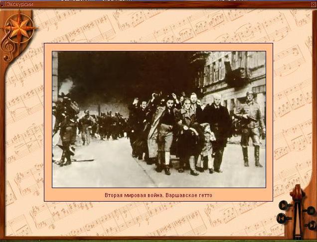 Вторая мировая война. Варшавское гетто