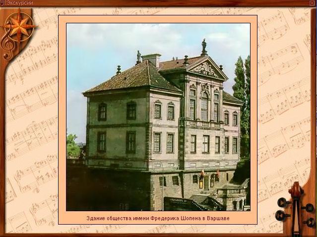 Здание общества имени Фредерика Шопена в Варшаве