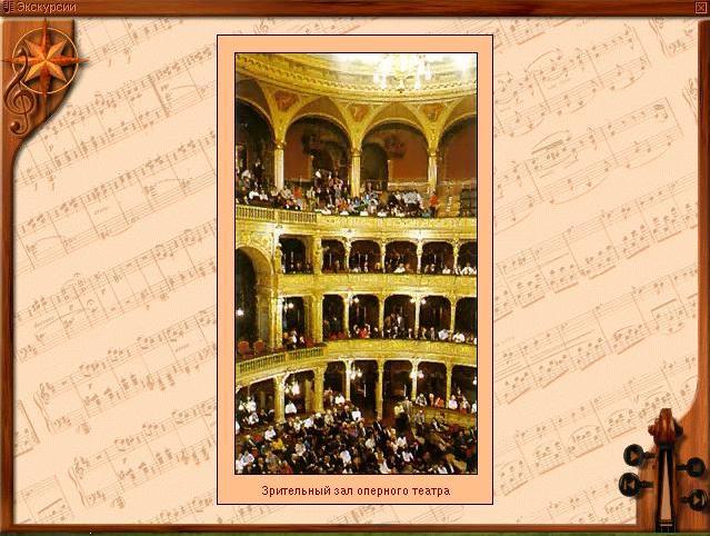Зрительный зал оперного театра