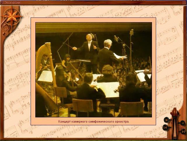 Концерт камерного симфонического оркестра